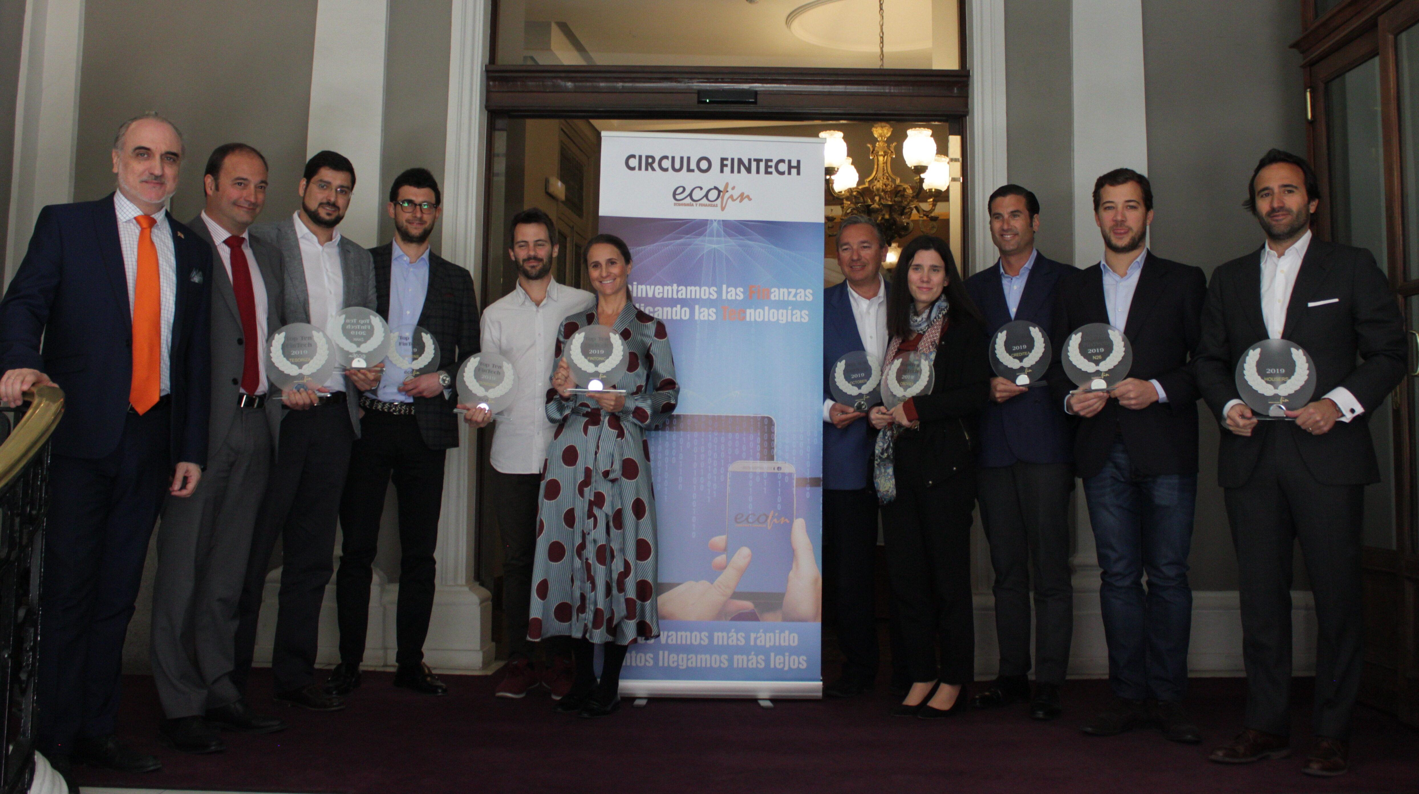 Premio Top Ten Fintech 2019