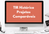 TIR Histórica Projetos Comparáveis