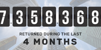 more than 7 million returned
